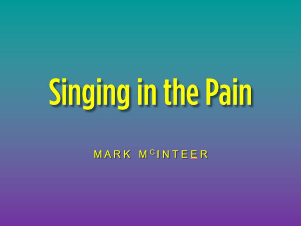 Singing in the Pain Image